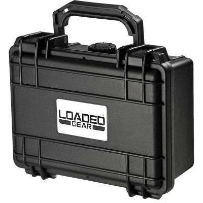Loaded Gear 8.3 in. HD-100 Hard Case, Black