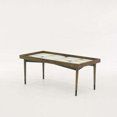 Harvey Park Grand Walnut Coffee Table