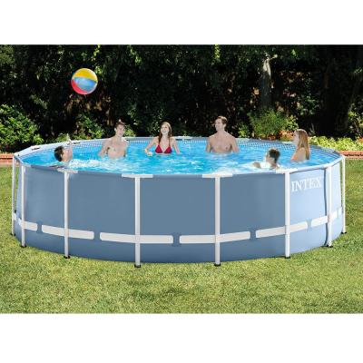 15 ft. x 48 in. Round Prism Frame Above Ground Pool Package
