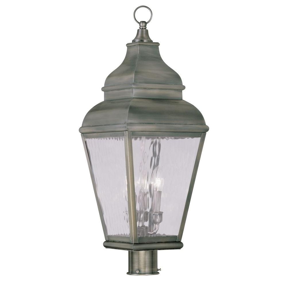 Livex Lighting Providence 3 Light 20 In Outdoor Vintage