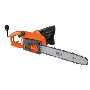 Black Decker 16 In 12 Amp Corded Electric Chainsaw Cs1216