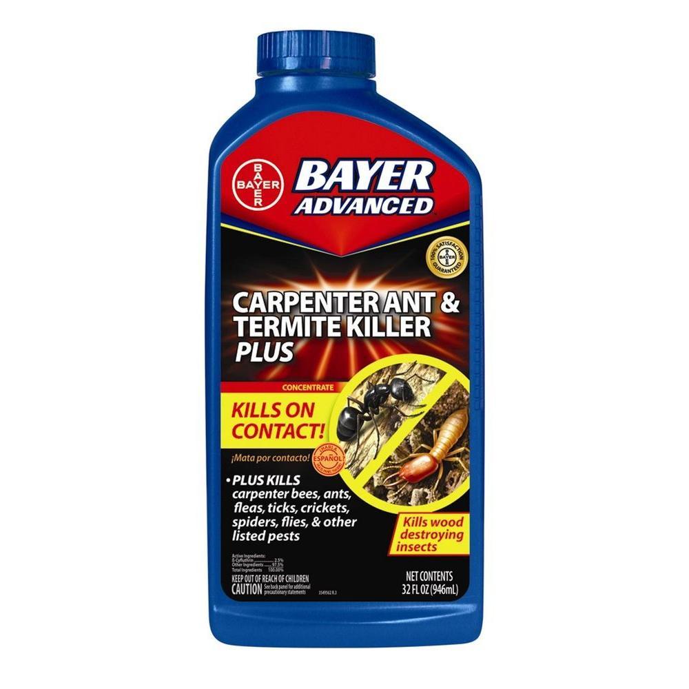 Bayer Advanced 32 Oz. Concentrate Carpenter Ant And Termite Killer Plus