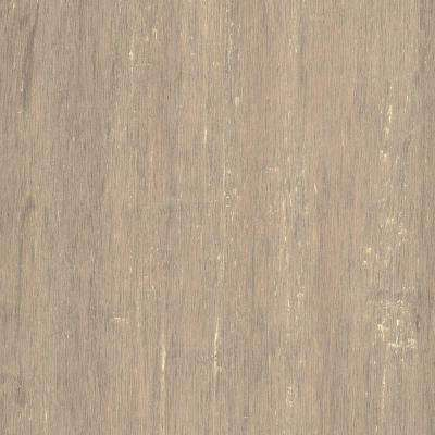 Hand Scraped Strand Woven Poppyseed 1/2 in.x7.48 in.x72.835 in. Engineered Click Bamboo Flooring(30.268 sq. ft. /case)