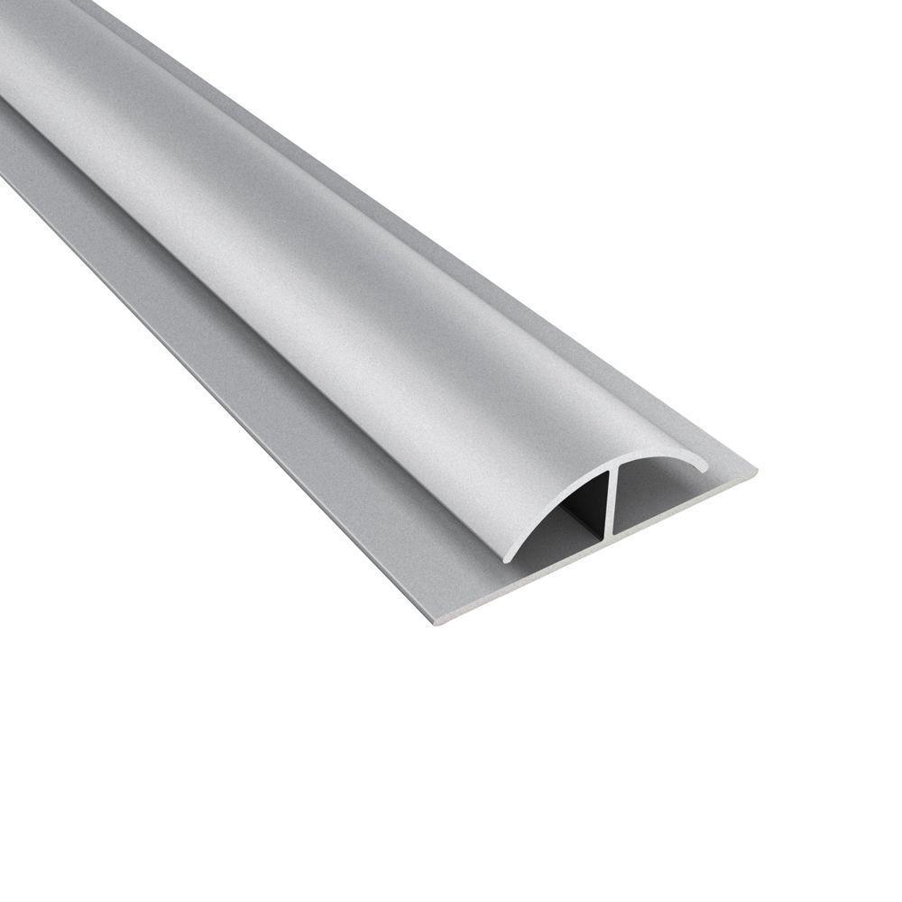 Fasade 4 ft. Argent Silver Divider Trim