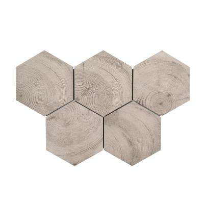 Cabin Fever 7 in. x 8 in. x 9mm Porcelain Floor and Wall Tile (10.76 sq. ft. / case)