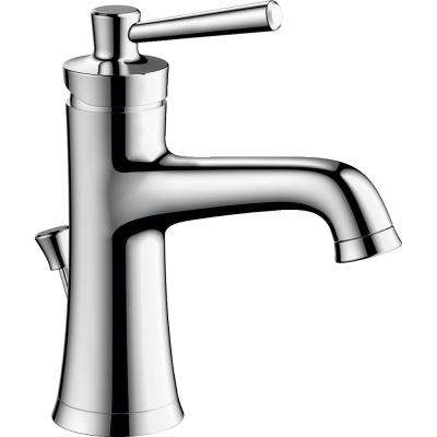 Joleena Single Hole Single-Handle Bathroom Faucet with Drain Assembly in Chrome