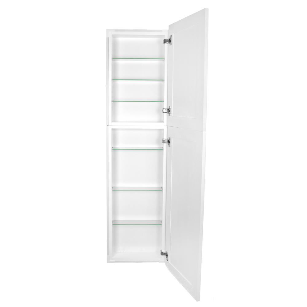 Frameless Kitchen Cabinets Home Depot: Silverton 14 In. X 62 In. X 4 In. Frameless Recessed