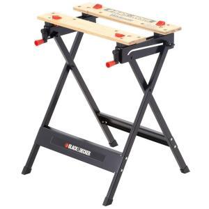 Click here to buy Black & Decker Workmate 125 30 inch Folding Portable Work Bench and Vise by BLACK+DECKER.