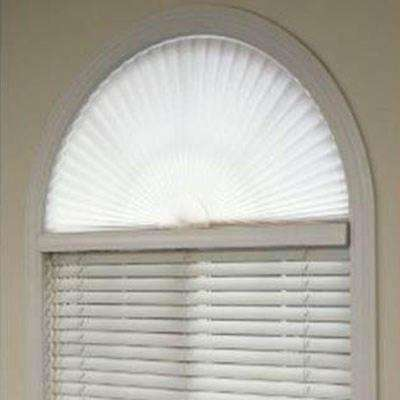 half moon blinds hunter douglas the home depot pleated arch shade skylight shades blinds