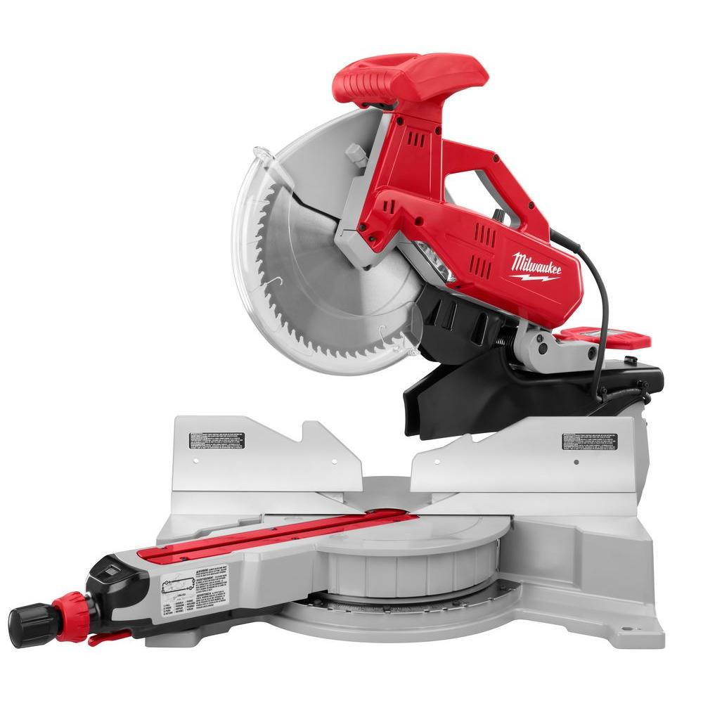 Milwaukee 12 in. Dual Bevel Sliding Compound Miter Saw