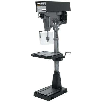 1 HP 15 in. Floor Standing Drill Press, Variable Speed, 115/230-Volt, J-A5816