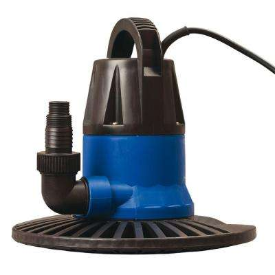 Dredger 1250 GPH In-Ground Winter Cover Pump with Base