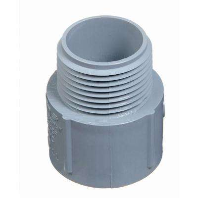 1 in. PVC Male Terminal Adapter (Case of 30)