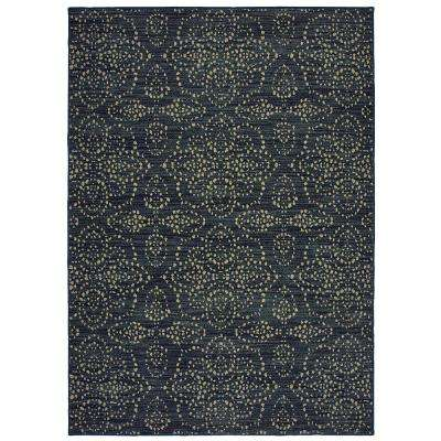 Brookmill Blue 7 Ft 10 In X Area Rug