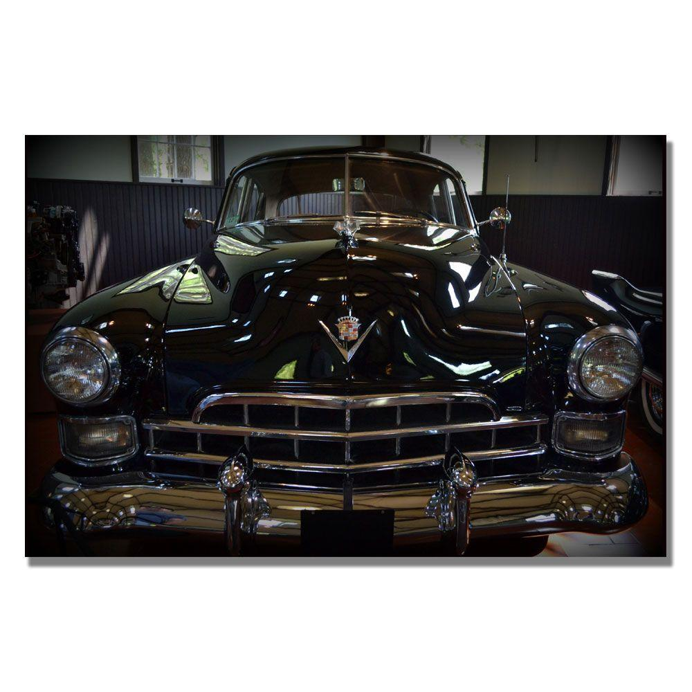 null 16 in. x 24 in. 1948 Cadillac Front Canvas Art