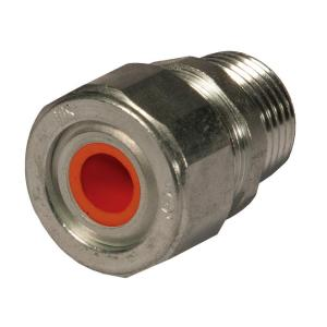 RACO Liquidtight Strain Relief 1/2 inch Cord Connector (25-Pack) by RACO