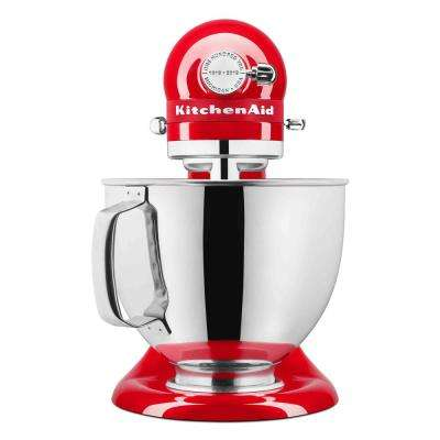 100-Year Limited Edition Queen of Hearts 5 Qt. 10-Speed Passion Red Stand Mixer