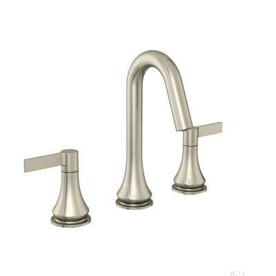 Springbrook 8 in. Widespread 2-Handle Bathroom Faucet in Brushed Nickel