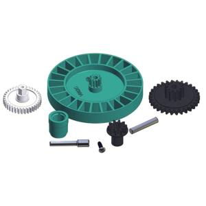 Medium Turbine Spindle Gear Vacuum Auto Pool Cleaner Replacement Kit