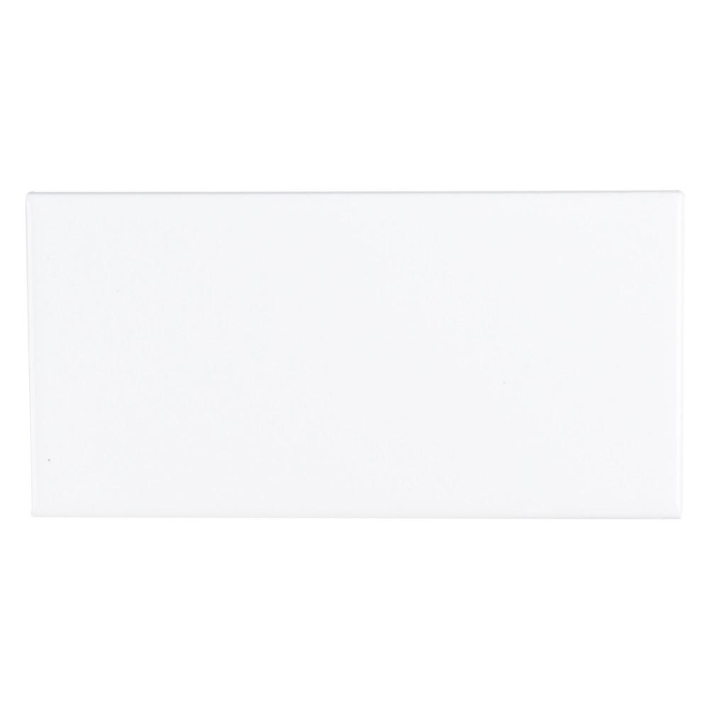 Jeffrey Court Fresh White 3 in. x 6 in. Ceramic Field Wall Tile (12.5 sq. ft. / case)