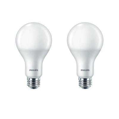 75-Watt Equivalent A21 Dimmable with Warm Glow Dimming Effect Energy Saving LED Light Bulb Soft White (2700K) (2-Pack)
