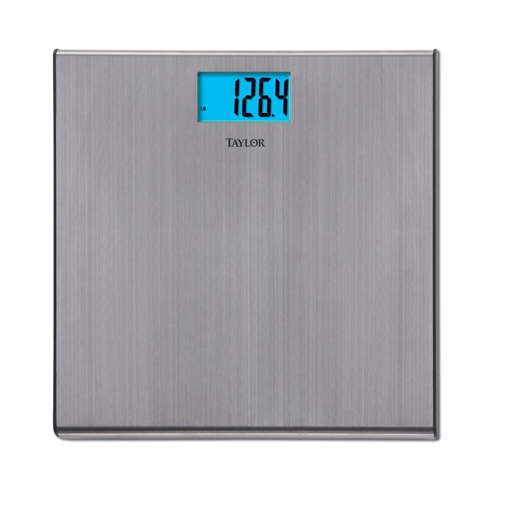care health personal scales bathroom scale glass digital chrome and dp lb taylor capacity com amazon