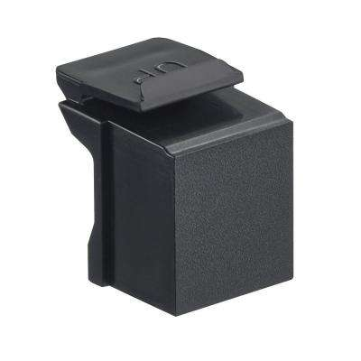 QuickPort Blank Inserts, Black (10-Pack)