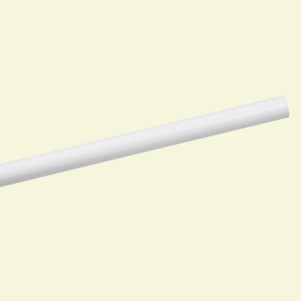 Lovely White Closet Rod
