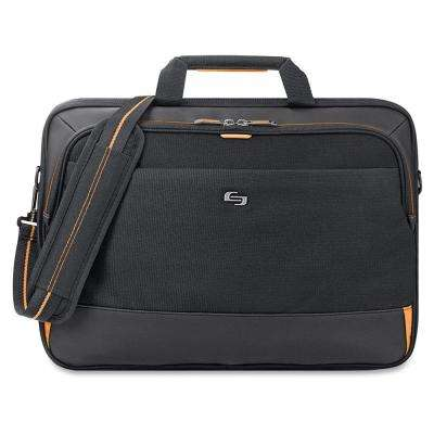 17.3 in. Black/Gold Polyester Urban Notebook Carrying Case