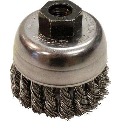2-3/4 in. Knot Wire Cup Brush