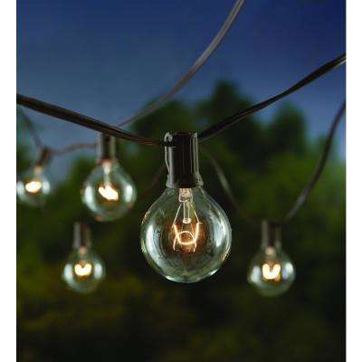 12 Light Large Cafe Clear String Lights
