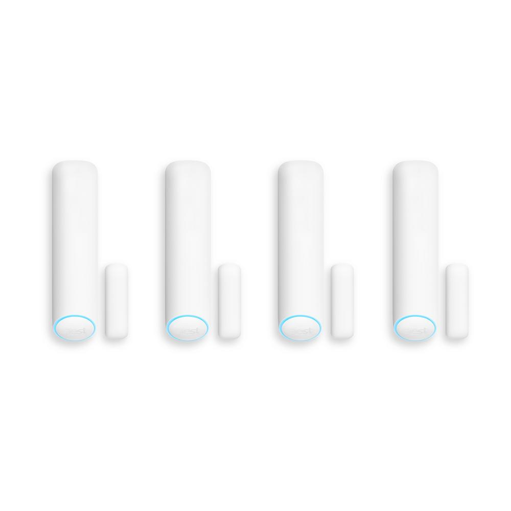 Google Nest Wireless Detect Sensor for Nest Secure Alarm System (4-Pack)