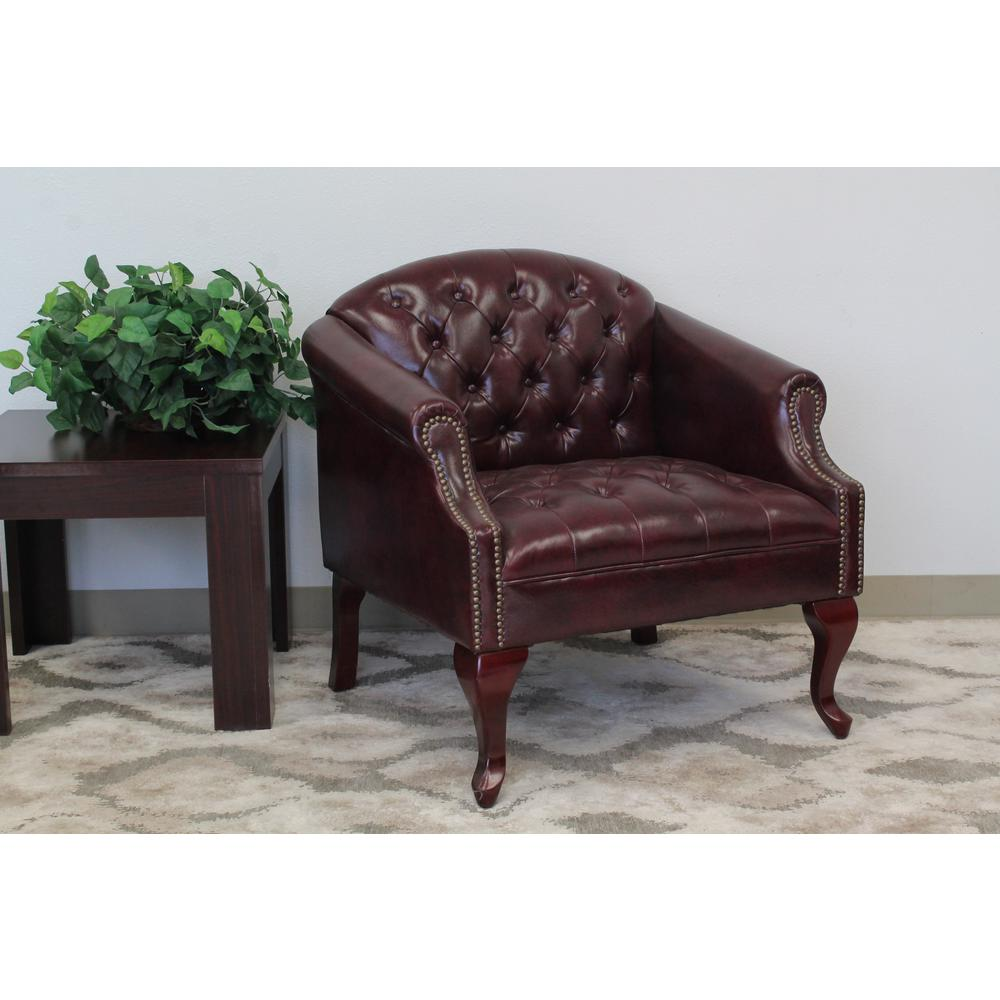 Bon Boss Classic Traditional Button Tufted Club Chair