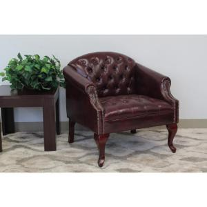 Boss Classic Traditional Button Tufted Club Chair by Boss
