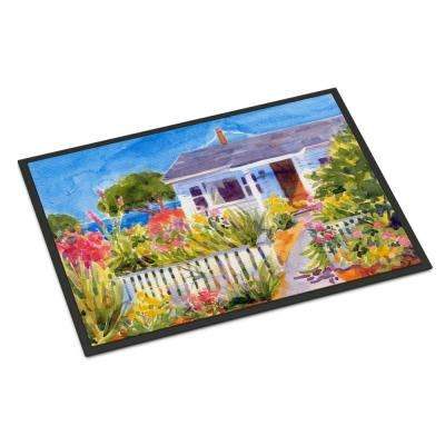 18 in. x 27 in. Indoor/Outdoor Seaside Beach Cottage Door Mat