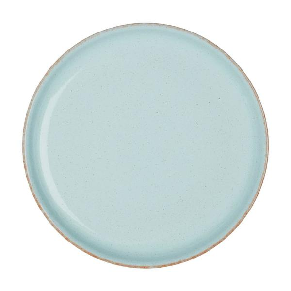 Heritage Pavilion Light Blue Coupe Dinner Plate