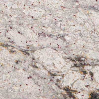 3 in. x 3 in. Granite Countertop Sample in Yukon White