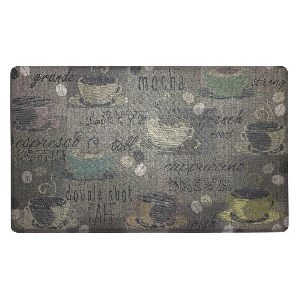 Chef Gear Roasted Coffee 20 In X 32 In Anti Fatigue