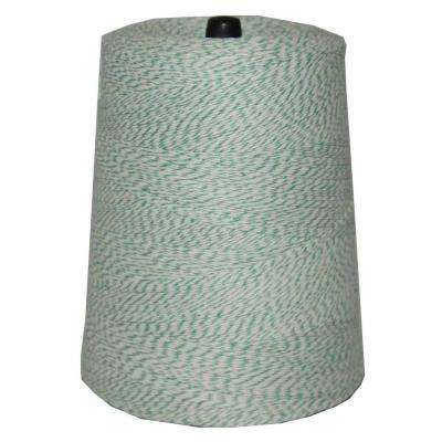4-Ply 9600 ft. 2 lb. Twine Cone in Variegated Green and White