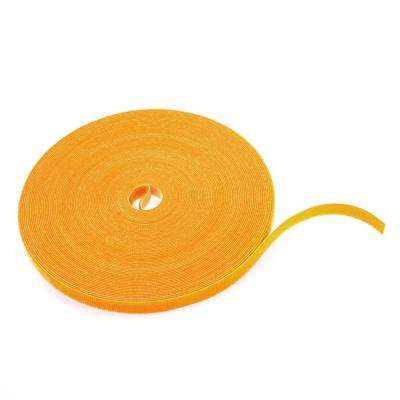Cable Management Solutions 75 ft. VELCRO Brand Bulk Roll, Yellow