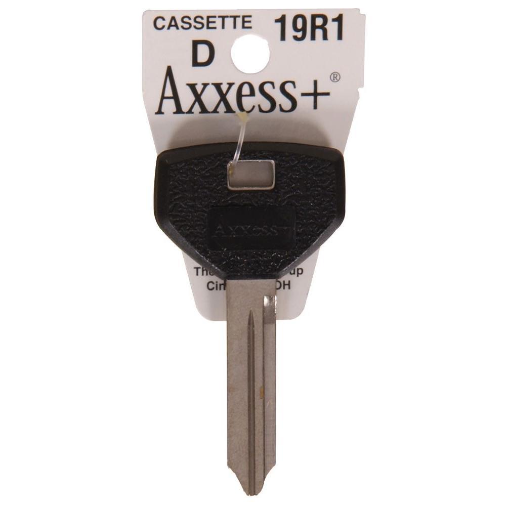 Rubberhead Blank #19R1 Automotive Key
