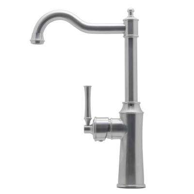 Suriel Single-Handle Bar Faucet in Stainless Steel
