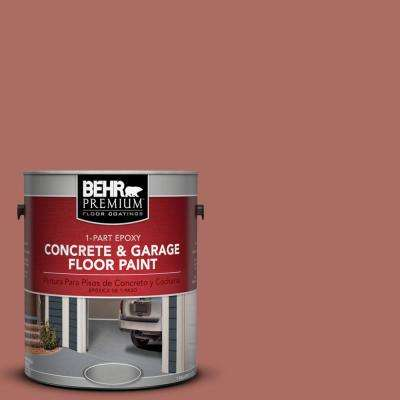 1 gal. #PPF-20 New England Brick 1-Part Epoxy Concrete and Garage Floor Paint