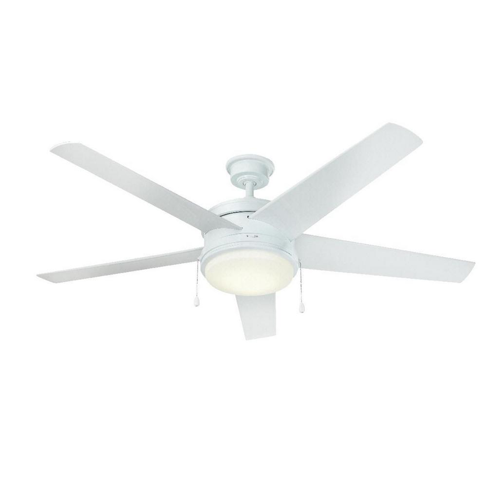 Home Decorators Collection Portwood 60 in. LED Outdoor Wh...