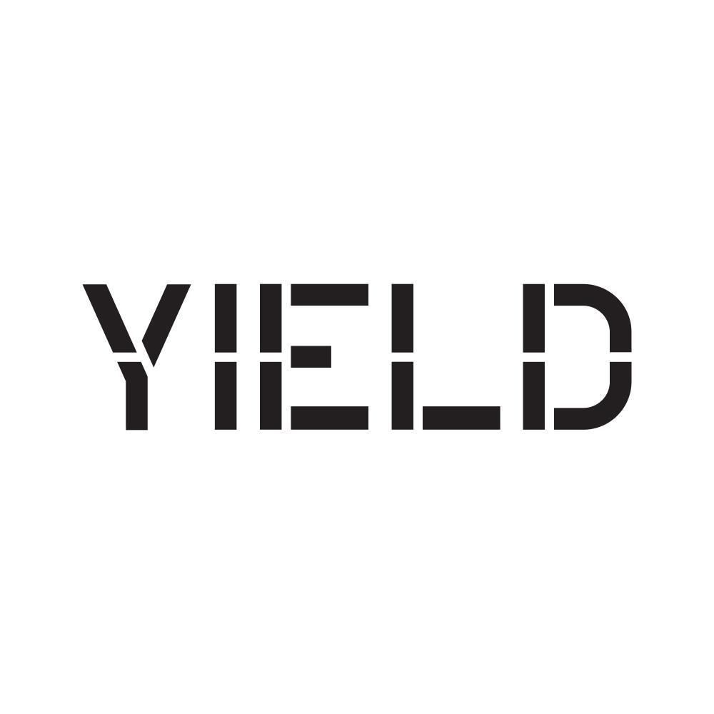 36 in. Yield Stencil