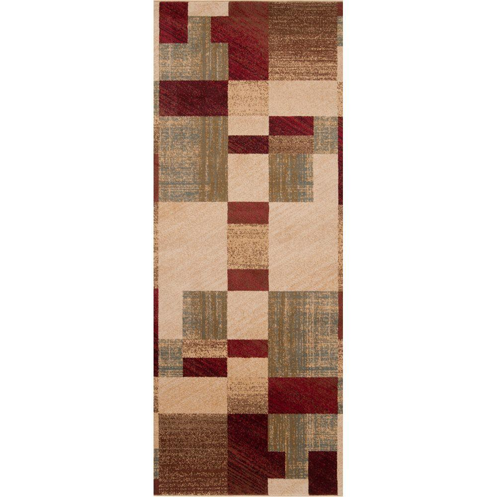 Futrono Tea Leaves 2 ft. x 7 ft. 5 in. Rug