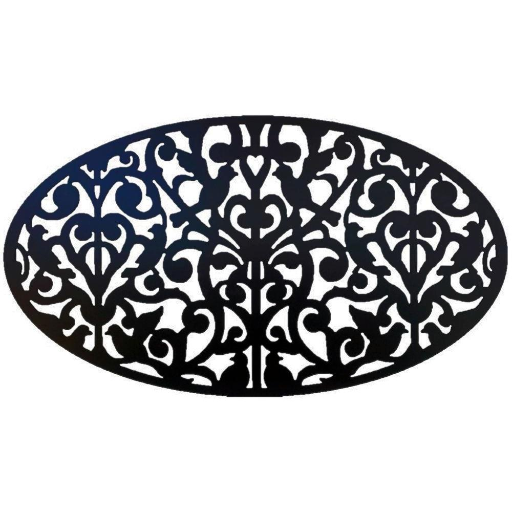 acurio latticeworks outdoor wall decor 2746 o pvc gndv bk 64_1000 20 04 in x 36 in black brock paver base panel pvb5b the home depot  at honlapkeszites.co