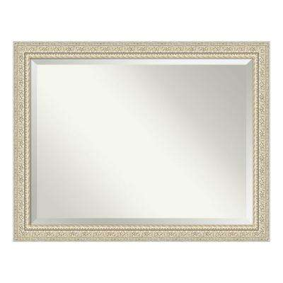 Fair Baroque Cream Bathroom Vanity Mirror