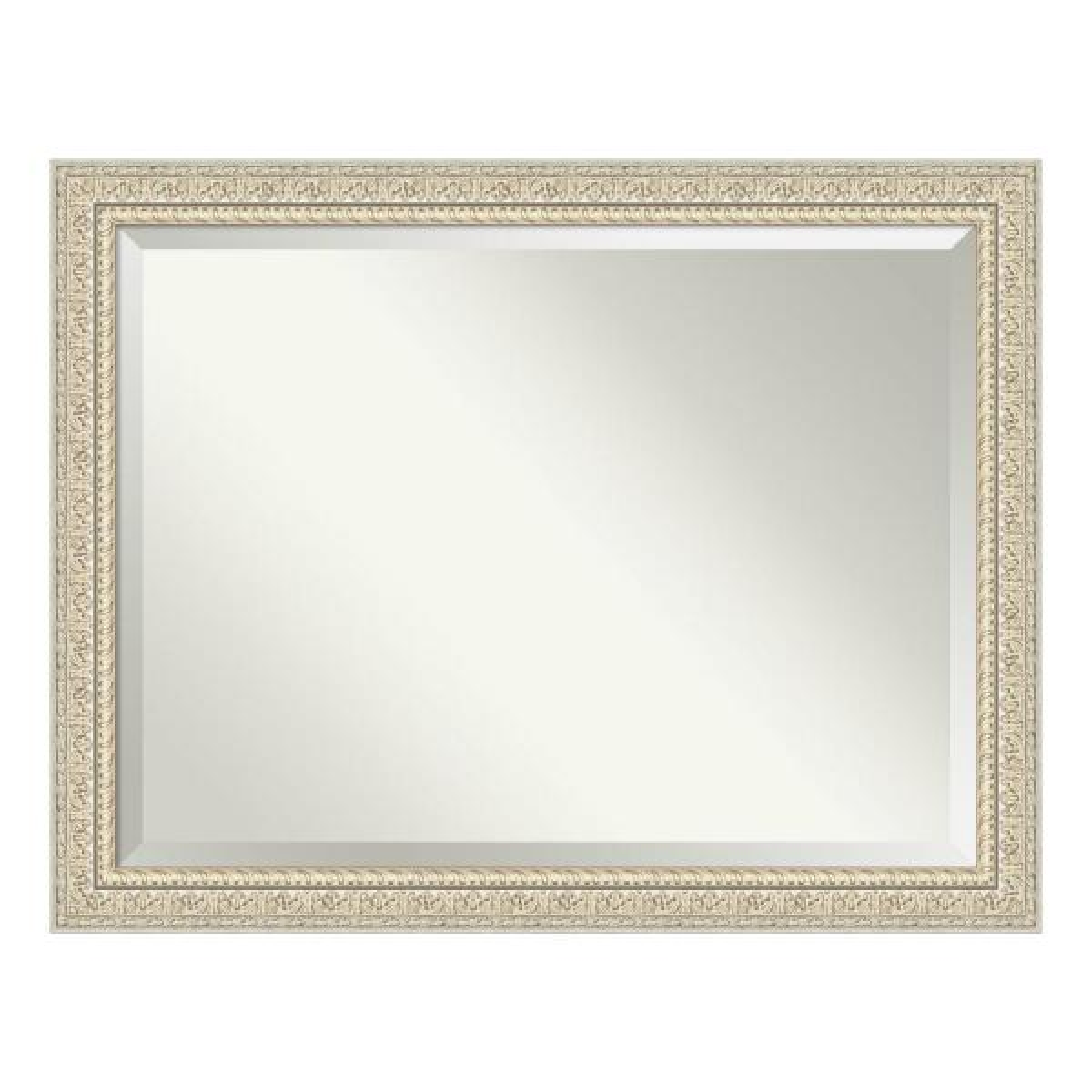 Amanti Art Fair Baroque Cream Bathroom Vanity Mirror DSW4093763