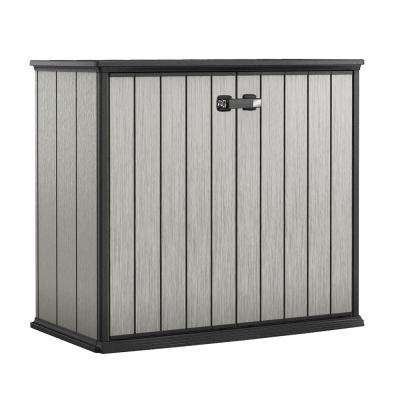 Patio Store 4.6 ft x 2.6 ft x 3.11 ft Resin Horizontal Storage Shed